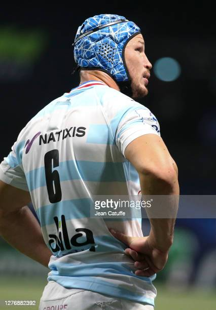 Wenceslas Lauret of Racing 92 during the Heineken Champions Cup Semi Final match between Racing 92 and Saracens at Paris La Defense Arena on...