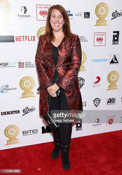 Wende Crowley attends the 9th Annual Guild Of Music Supervisors Awards at The Theatre at Ace Hotel on February 13 2019 in Los Angeles California