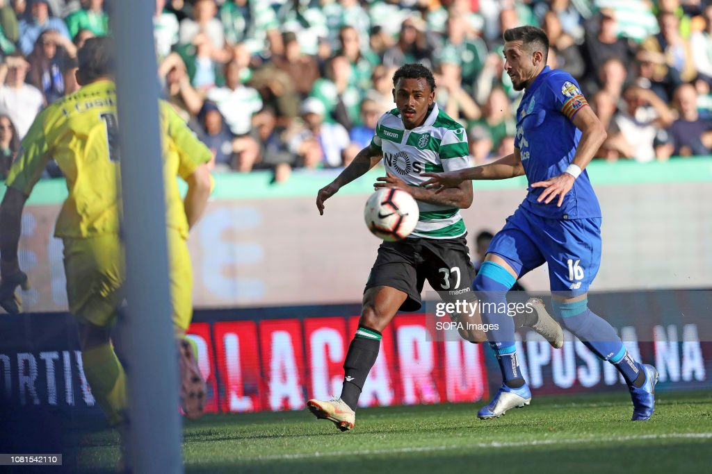 Wendel Of Sporting Cp And Hector Herrera Of Fc Porto Are Seen During News Photo Getty Images