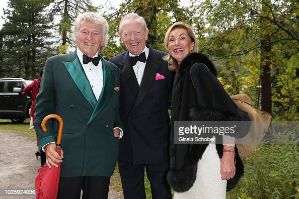 wendelin von boch and his wife brigitte von boch and prince ludwig news photo getty images. Black Bedroom Furniture Sets. Home Design Ideas