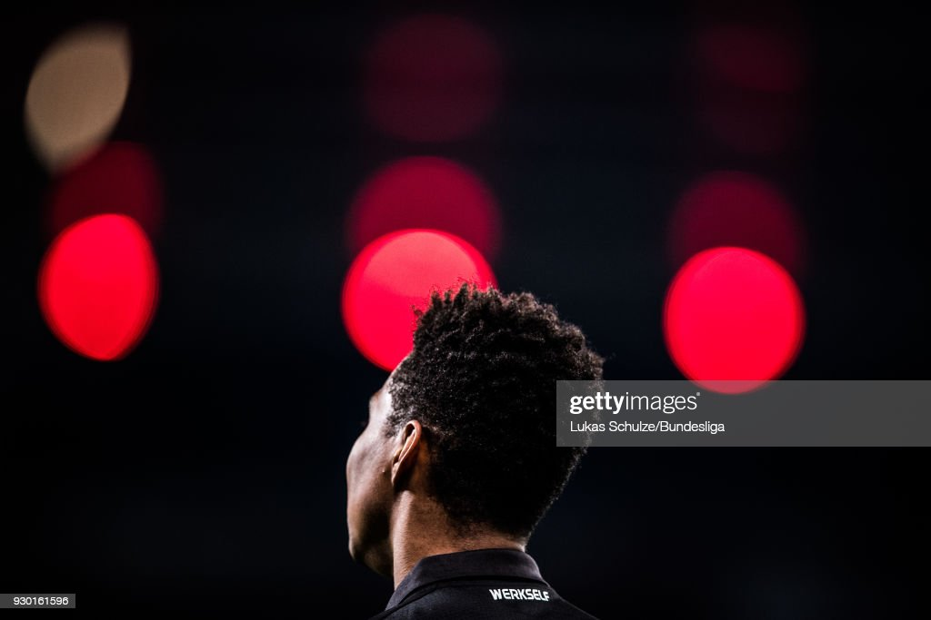 Wendell Nascimento Borges of Leverkusen is seen during the Bundesliga match between Bayer 04 Leverkusen and Borussia Moenchengladbach at BayArena on March 10, 2018 in Leverkusen, Germany.