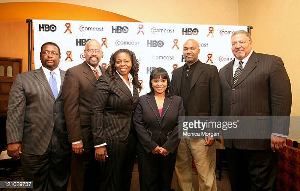 Wendell Pierce actor Gerald Smith Comcast Director of Corporate Affairs Carla Moore HBO Director of Affiliate Sales Pamela Dover Comcast Regional...