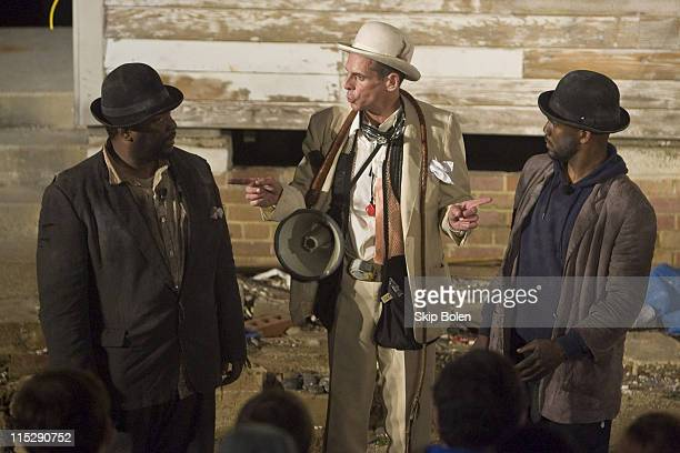 Wendell Pierce as Vladimir T Ryder Smith as Pozzo and J Kyle Manzay as Estragon in Samuel Beckett's 'Waiting for Godot' performed on Saturday October...
