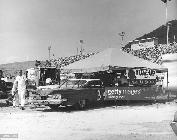 Wendell Scott drove this 1960 Chevrolet at the Volunteer 500 on July 29, 1961 in Bristol, Tennessee. Scott's car suffered rear differential problems,...
