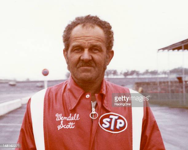 Wendell Scott of Danville, VA, at Atlanta International Raceway during his final year of competition on the NASCAR Cup circuit. During his career,...