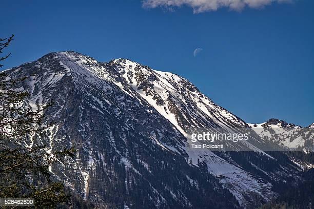 Wendelstein Mountain in Bayrischzell, Bavaria, Germany