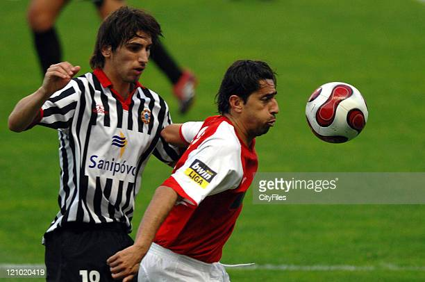 Wender and Pedrinho during Portuguese Cup Quarterfinals Braga vs Varzim March 25 2007 in Braga Portugal