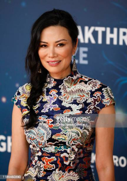 Wendi Deng attends the 2020 Breakthrough Prize Ceremony at NASA Ames Research Center on November 03, 2019 in Mountain View, California.