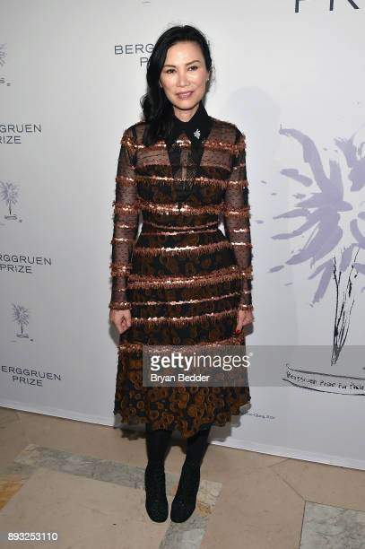Wendi Deng attends the Berggruen Prize Gala at the New York Public Library on December 14 2017 in New York City