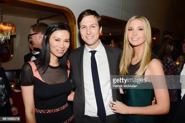 Wendi Deng Jared Kushner and Ivanka Trump attend The New York Observer's New Look Hosted by Jared Kushner and Joseph Meyer at Casa Lever on April 1...