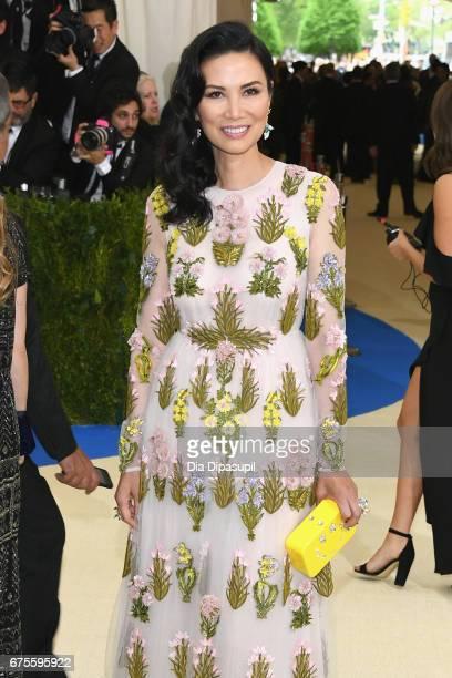 Wendi Deng Murdoch attends the 'Rei Kawakubo/Comme des Garcons Art Of The InBetween' Costume Institute Gala at Metropolitan Museum of Art on May 1...