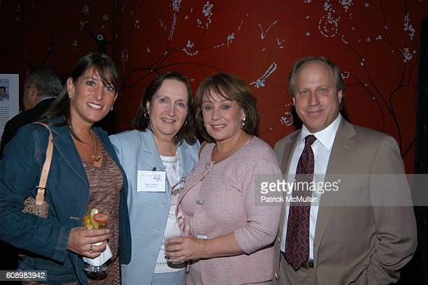 Wendi Heller Anne Collins Andrea Spring and Phil Witt attend HAMPTON STYLE Celebrates the Launch of the 2007 SEASON at Monkey Bar on May 21 2007 in...
