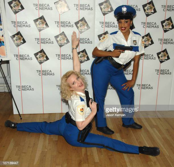 "Wendi McLendon Covey and Niecy Nash during The Tribeca Cinema Series Hosts a Special Screening of ""Reno 911!: Miami"" - February 21, 2007 at Tribeca..."