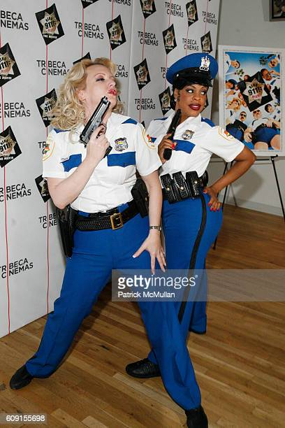 Wendi McLendonCovey and Niecy Nash attend The Tribeca Cinema Series Hosts After Party for the Screening of RENO 911 MIAMI at The Tribeca Cinemas...