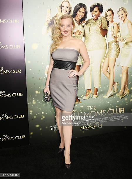 Wendi McLendonCovey arrives at the Los Angeles premiere of Tyler Perry's The Single Moms Club held at ArcLight Cinemas Cinerama Dome on March 10 2014...