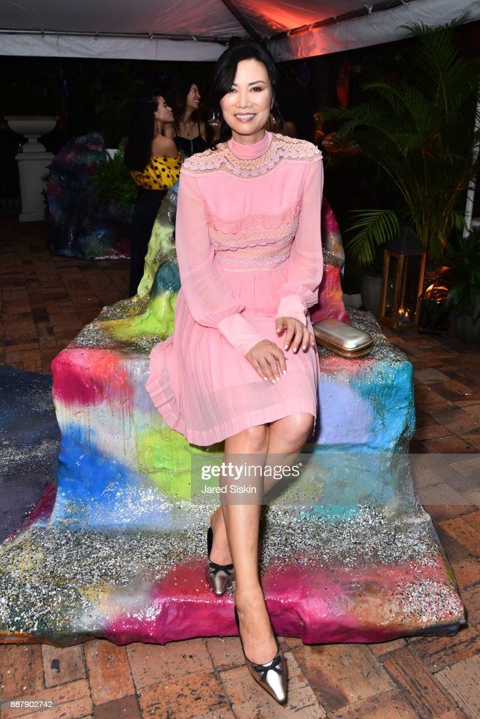 Wendi Murdoch attends Artsy Projects Miami VIP at The Bath Club on December 6, 2017 in Miami Beach, Florida.