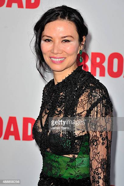 Wendi Murdoch attends The Broad Museum Black Tie Inaugural Dinner at The Broad on September 17 2015 in Los Angeles California