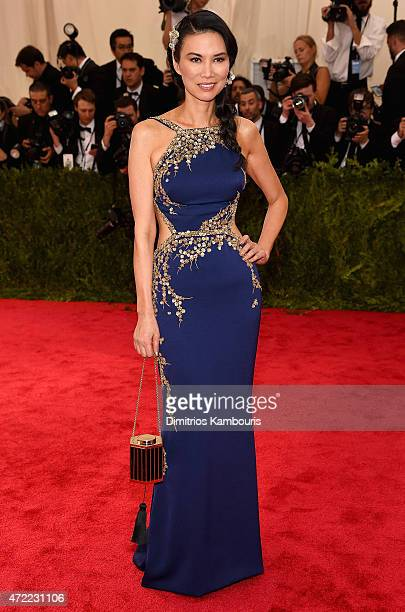 Wendi Murdoch attends the 'China Through The Looking Glass' Costume Institute Benefit Gala at the Metropolitan Museum of Art on May 4 2015 in New...