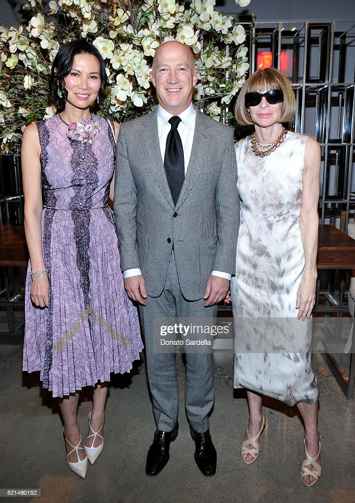 """The First Monday In May"" Los Angeles Screening Hosted By Bryan Lourd, Wendi Murdoch, Anna Wintour, iTunes, And Magnolia Pictures : News Photo"