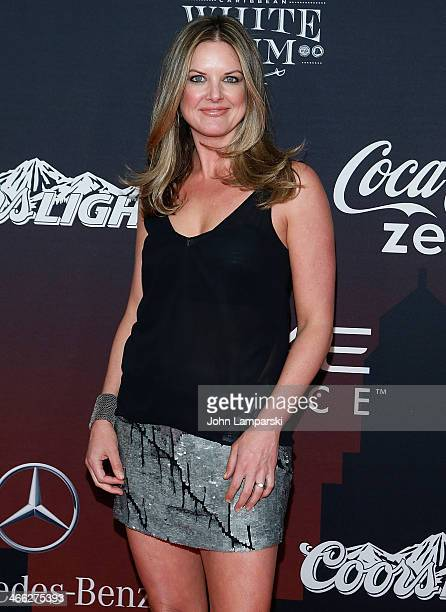 Wendi Nix attends 2014 ESPN The Party at Pier 36 on January 31 2014 in New York City