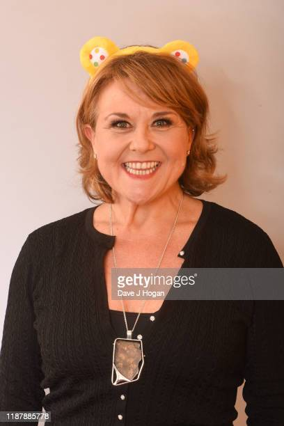 Wendi Peters backstage at BBC Children in Need's 2019 Appeal night at Elstree Studios on November 15 2019 in Borehamwood England