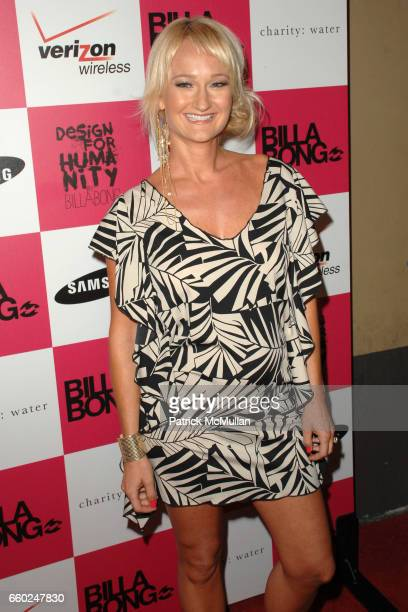 Wendi Robbins attends Billabong USA Celebrates Its 3rd Annual Design For Humanity at Avalon on June 17, 2009 in Hollywood, California.