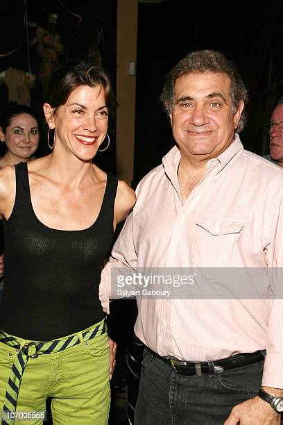 Wendie Malick and Dan Lauria during 14th Annual Rockers on Broadway at The Cutting Room in New York NY United States