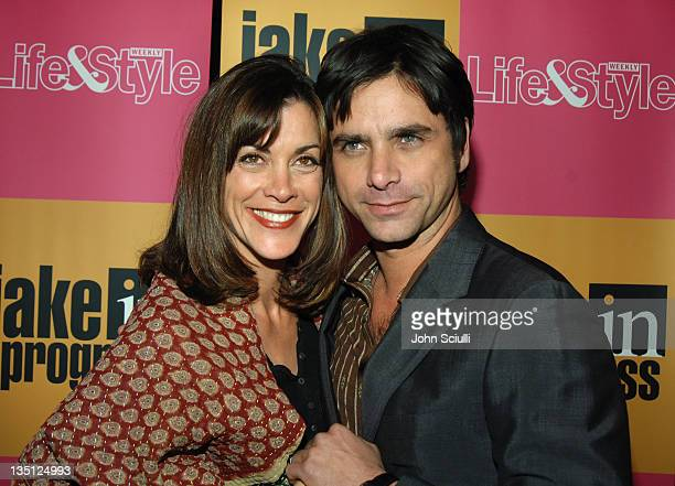 Wendie Malick and John Stamos during 'Jake in Progress' Second Season Premiere Viewing Party at The Belmont in Los Angeles California United States