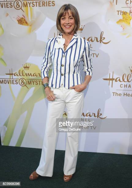 Wendie Malick arrives at the 2017 Summer TCA Tour Hallmark Channel And Hallmark Movies And Mysteries at a private residence on July 27 2017 in...