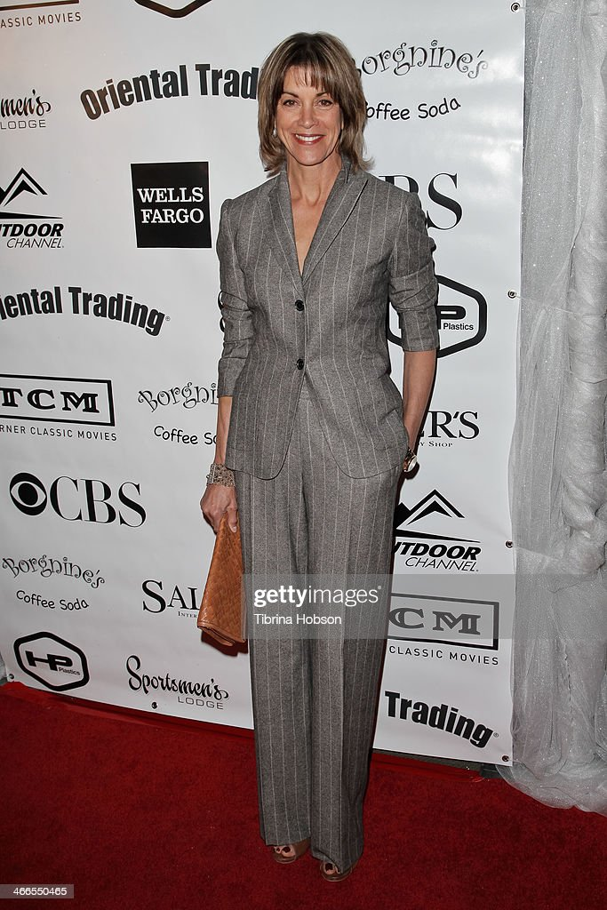 Wendie Malick attends the 2nd annual Borgnine movie star gala honoring actor Joe Mantegna at Sportman's Lodge on February 1, 2014 in Studio City, California.