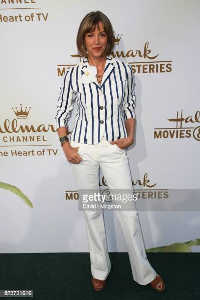 Wendie Malick attends the Hallmark Channel and Hallmark Movies and Mysteries 2017 Summer TCA Tour on July 27 2017 in Beverly Hills California