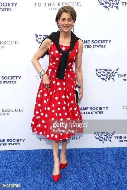 Wendie Malick attends The Humane Society Of The United States' To The Rescue Los Angeles Gala at Paramount Studios on April 21 2018 in Los Angeles...