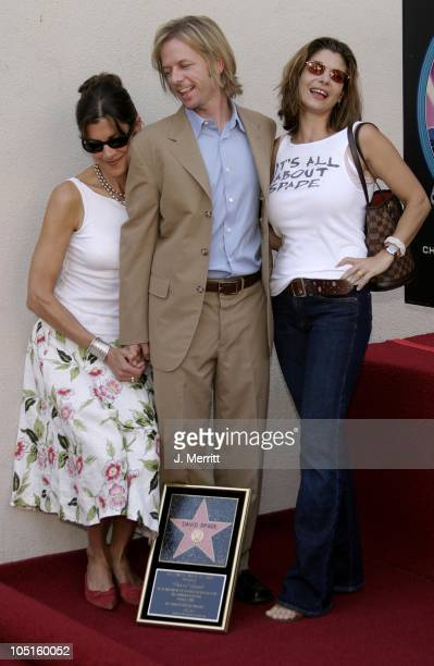 Wendie Malick David Spade and Laura San Giacomo during David Spade is Honored With a Star on the Hollywood Walk of Fame at The Hollywood Walk of Fame...