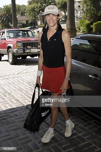 Wendie Malick during 2nd Annual Childhelp Tennis Classic at Beverly Hills Country Club in Los Angeles California United States