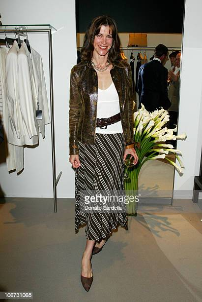 Wendie Malick during Cerruti and David Cardona CoHost Private Party to Celebrate the Opening of Cerruti Beverly Hills Benefiting OPCC at Cerruti...