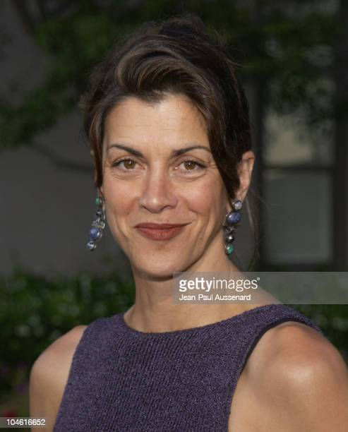 Wendie Malick during NBC Summer 2002 AllStar Party at Ritz Carlton Hotel in Pasadena California United States
