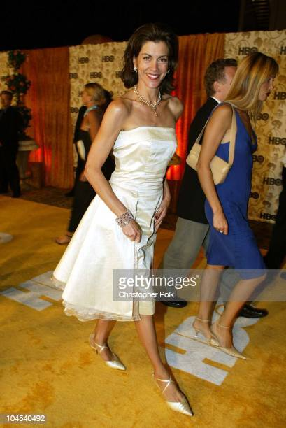 Wendie Malick during The 54th Annual Primetime Emmy Awards HBO Post Party at Spago's in Los Angeles California United States