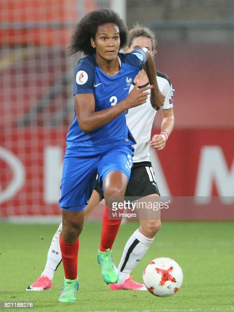Wendie Renard of France women during the UEFA WEURO 2017 Group C group stage match between France and Austria at the Galgenwaard Stadium on July 22...