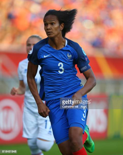 Wendie Renard of France Women during the UEFA Women's Euro 2017 match between France and Iceland at Koning Willem II Stadium on July 18 2017 in...