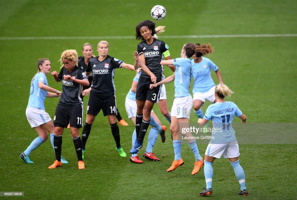 Manchester City Women v Lyon - UEFA Women's Champions League Semi Final: First Leg