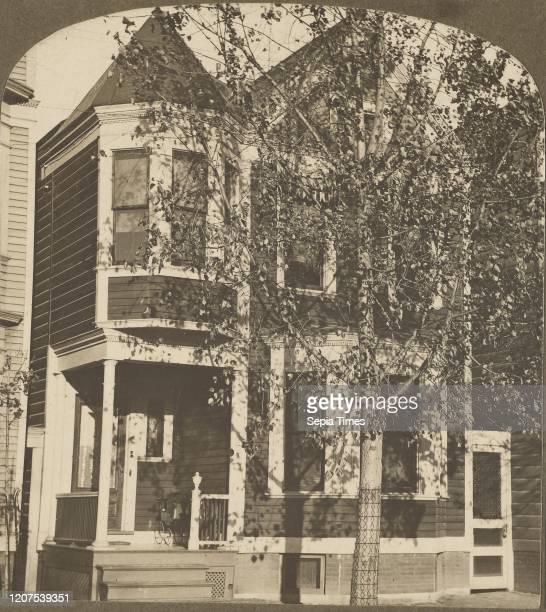 Wendt's House, 427 First St. Nov. '09, Albany, N.Y. Julius M. Wendt , November 1909, Gelatin silver print.