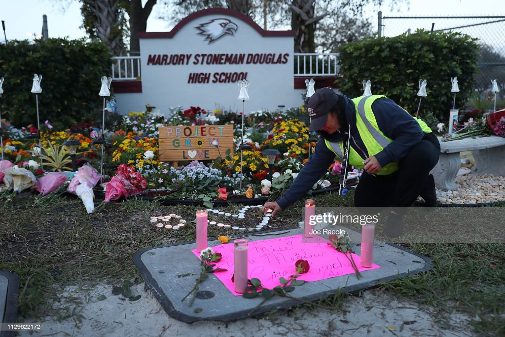 FL: One Year Anniversary Of Deadly Shooting At Marjory Stoneman Douglas High School In Parkland, Florida