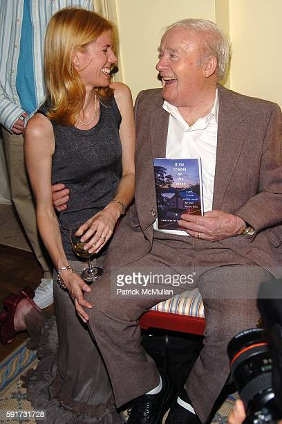 Wendy Bounds Jim Guinan== ASHLEY SCHIFF hosts a book party for WENDY BOUNDS' new book Little Chapel on the River Ashley Schiff's Home NYC== June 29...