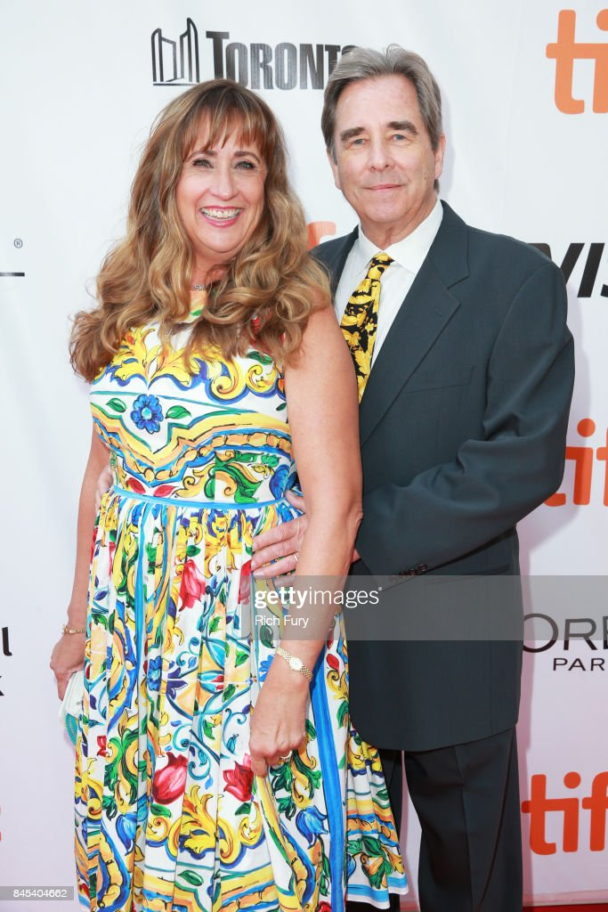 Wendy Bridges (L) and Beau Bridges attends 'The Mountain Between Us' premiere during the 2017 Toronto International Film Festival at Roy Thomson Hall on September 10, 2017 in Toronto, Canada.