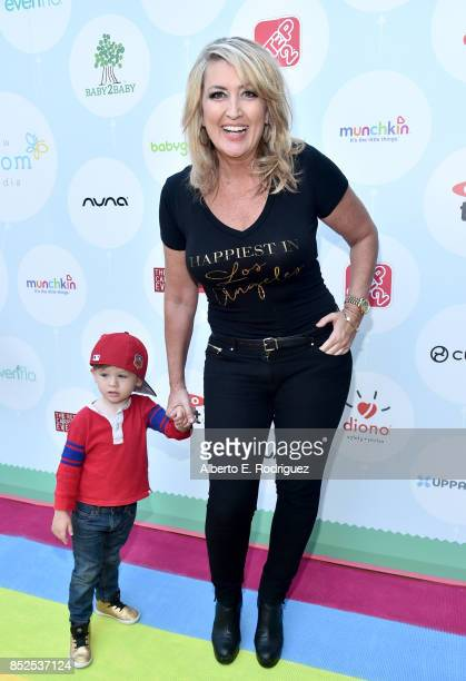 Wendy Burch and Brady Burch at Step 2 Presents 6th Annual Celebrity Red CARpet Safety Awareness Event on September 23 2017 in Culver City California