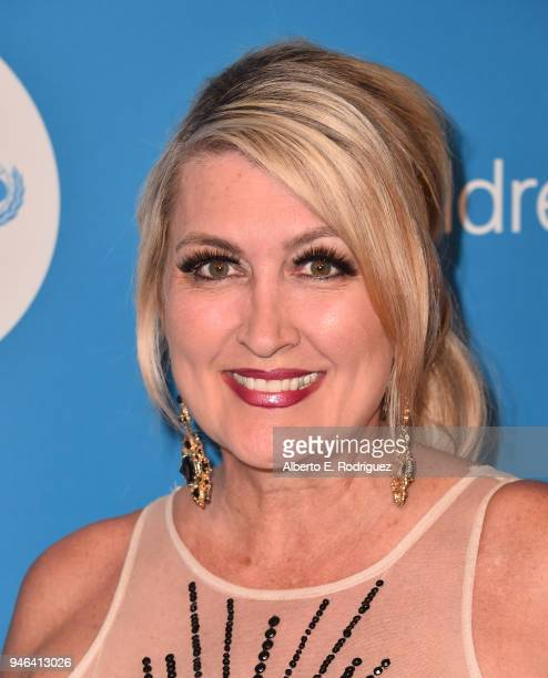Wendy Burch attends the 7th Biennial UNICEF Ball at the Beverly Wilshire Four Seasons Hotel on April 14 2018 in Beverly Hills California