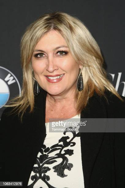 Wendy Burch attends The Grove Christmas Tree Lighting at The Grove on November 18 2018 in Los Angeles California