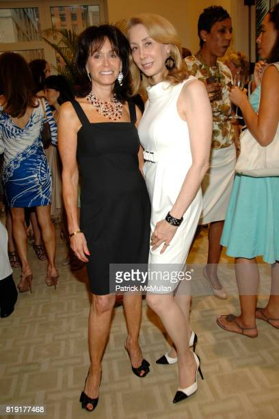 Wendy Carduner and Sharon Handler attend Susan FalesHill's ONE FLIGHT UP Book Launch Party at 15 Central Park West on July 21st 2010 in New York City