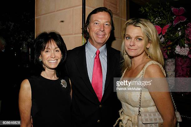 Wendy Carduner Bruce Colley and Debbie Bancroft attend Anne Hearst Jay McInerney Host An Engagement Party For GILLIAN HEARSTSHAW and CHRISTIAN...