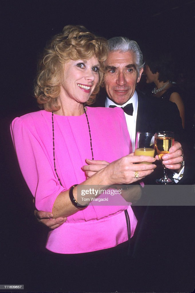 Wendy Craig and Frank Finlay at the first night party for the play 'Beyond